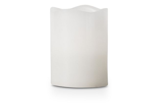 Capri Small Led Outdoor Candle