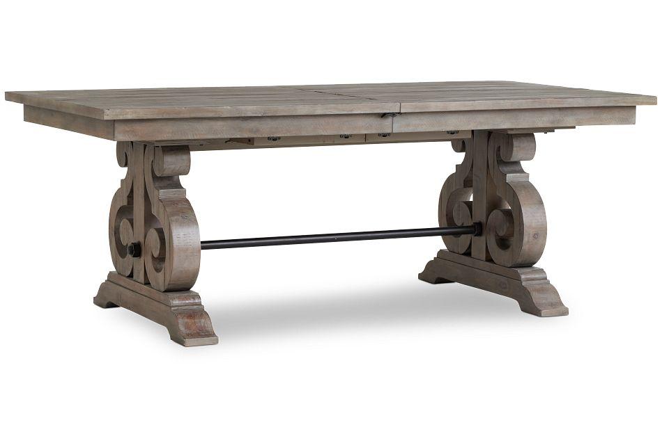Sonoma Light Tone Trestle Table,  (2)