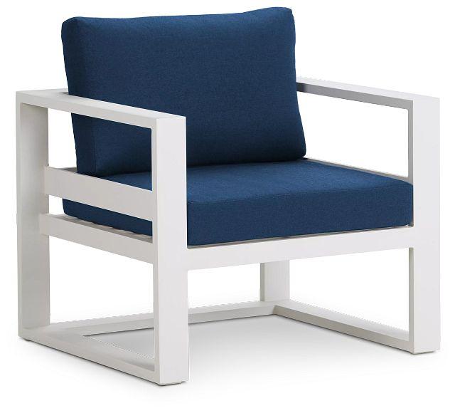 Lisbon Navy Aluminum Chair (0)