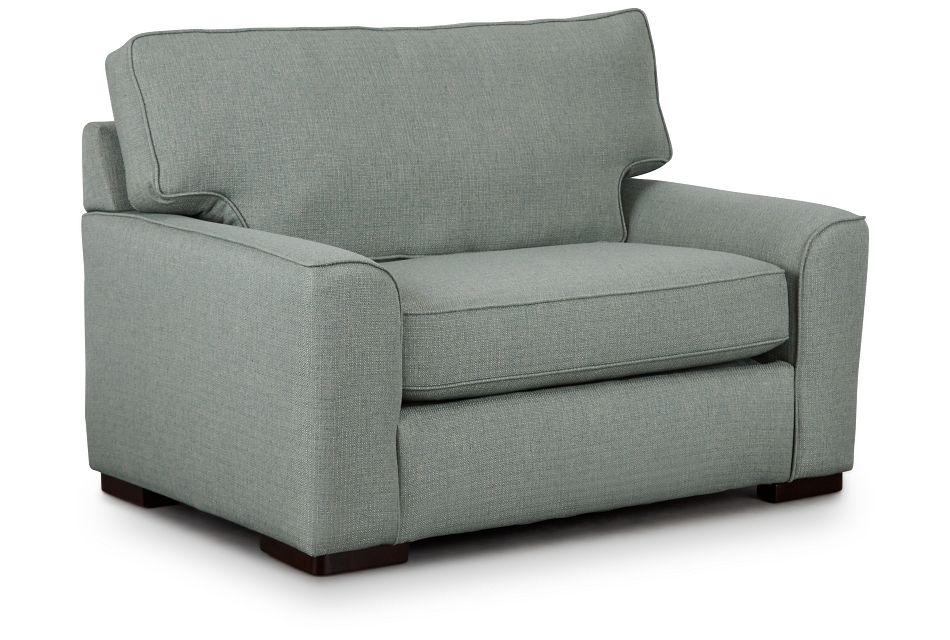 Austin Green Fabric Innerspring Sleeper, Twin (2)