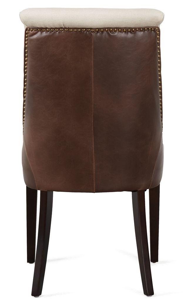 Brynn Light Beige Micro Side Chair (2)