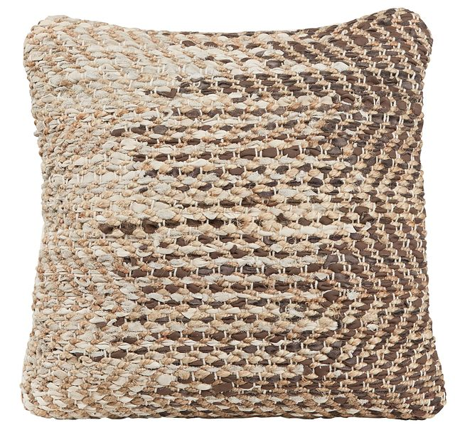 Messi Brown Accent Pillow (0)
