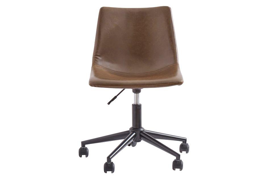 Centiar2 Brown Swivel Desk Chair,  (1)