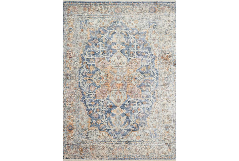 Ophelia Multicolored 5x7 Area Rug