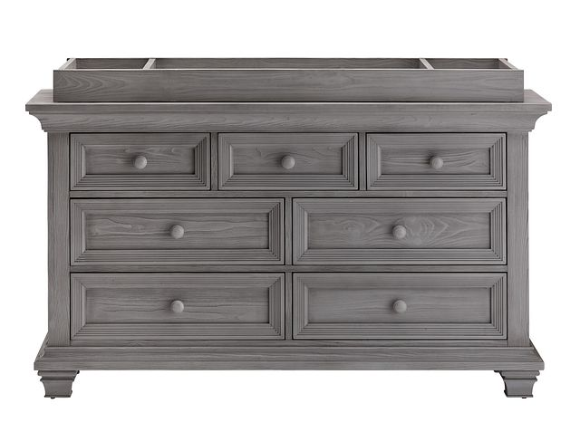 Westport Light Gray Dresser With Changing Top (0)