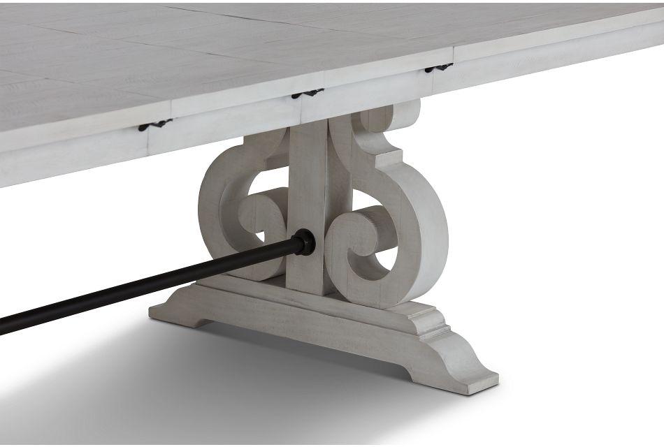 Sonoma Ivory Trestle Table