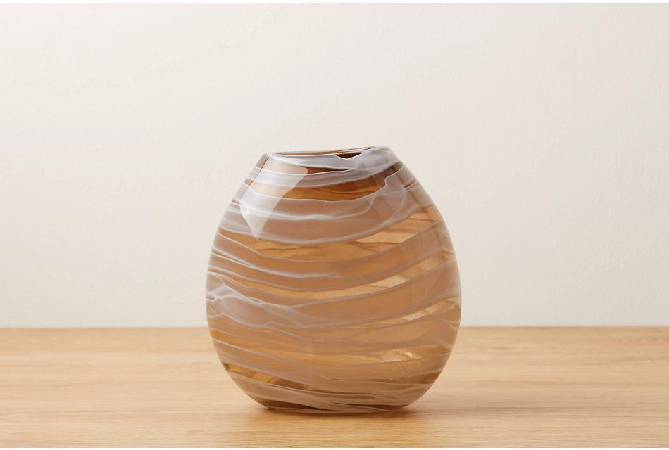 Olivia Beige Vase
