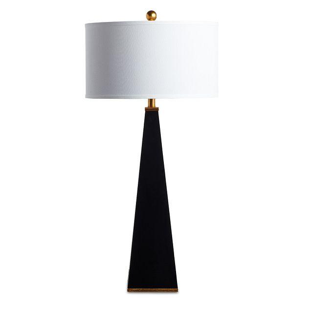 Elle Black Table Lamp (1)