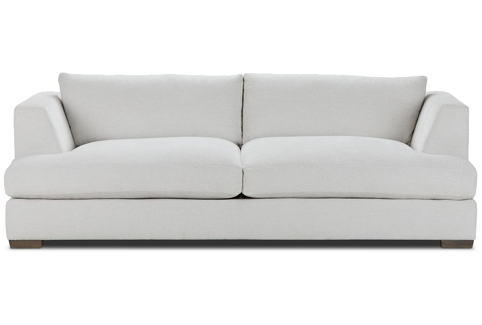 Giselle Light Beige Fabric Sofa