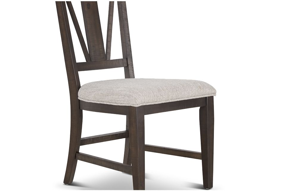 Heron Cove Dark Tone Upholstered Side Chair