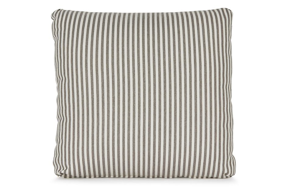 """Longboard Taupe 18"""" Square Accent Pillow,  (0)"""