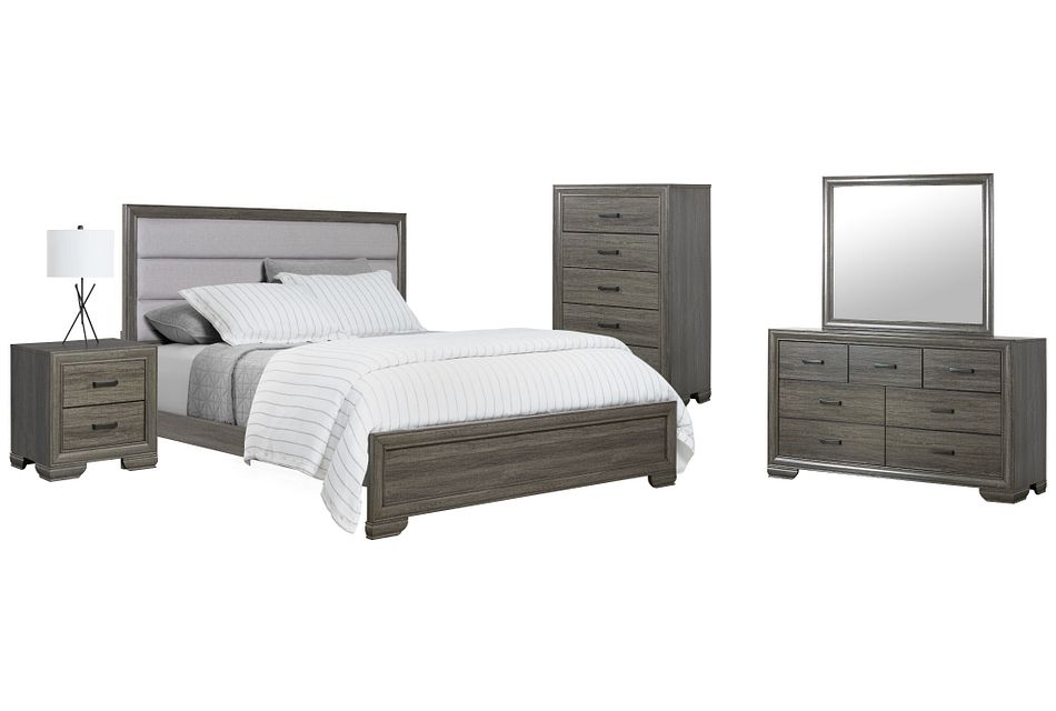 Colson Light Tone Panel Bedroom Package