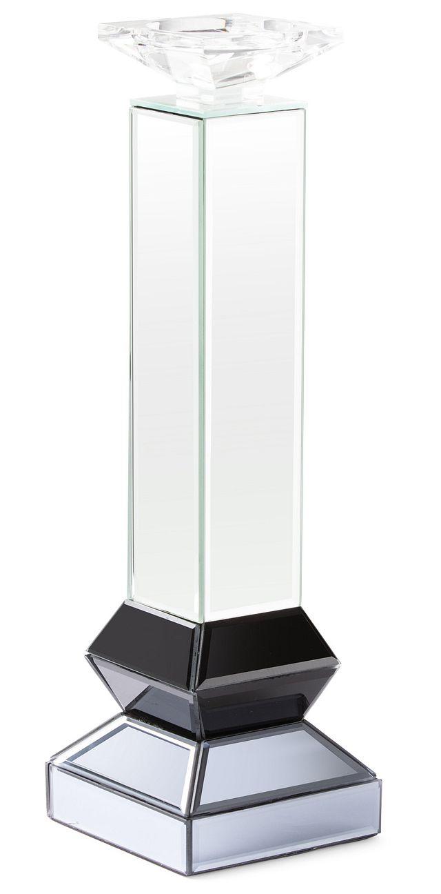 Penelope Silver Large Candle Holder (1)