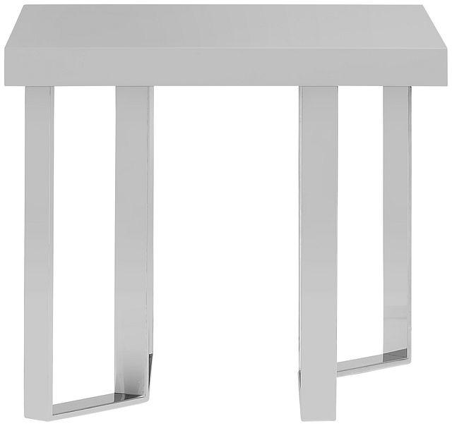 Axel Gray End Table (2)