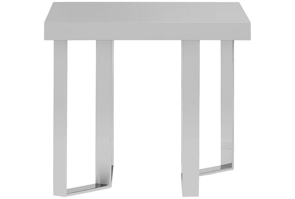 Axel Gray End Table