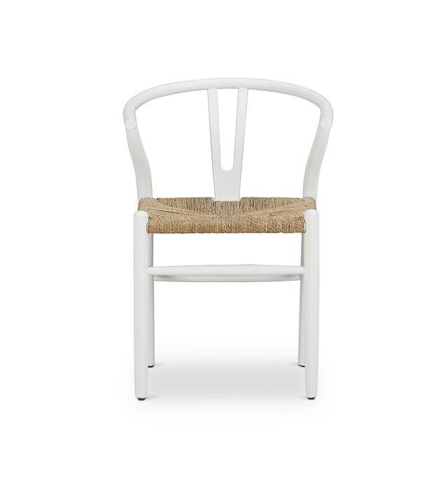 Moya White Wood Side Chair (3)