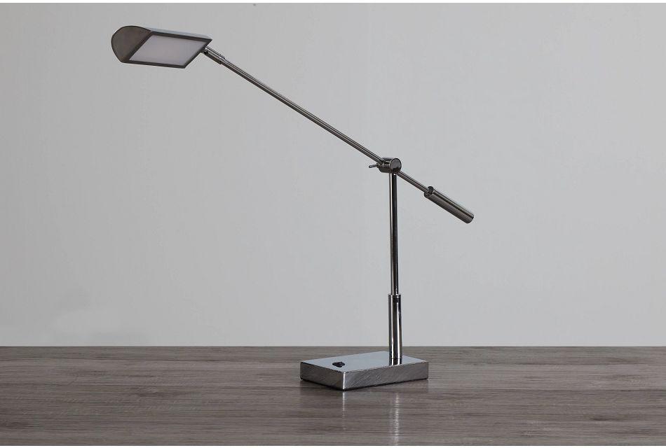 Nina Chrome Desk Lamp,  (0)