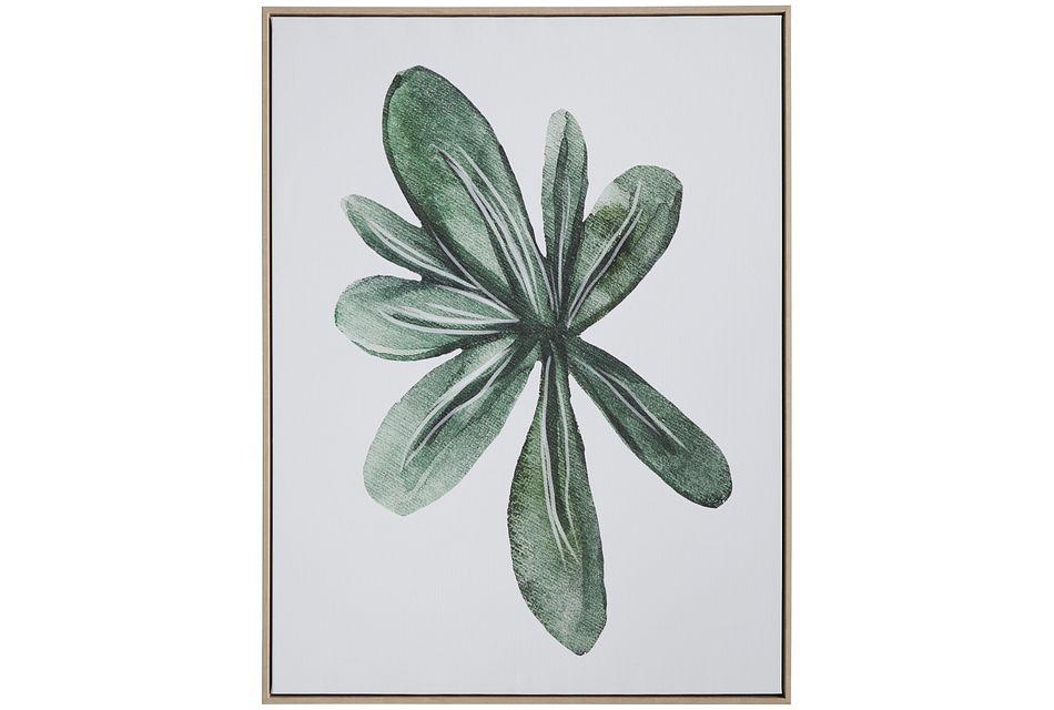 Cereus Green Framed Wall Art