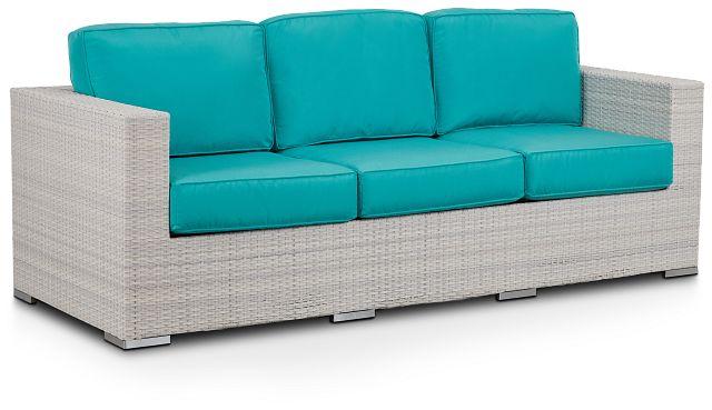 Biscayne Dark Teal Sofa (1)
