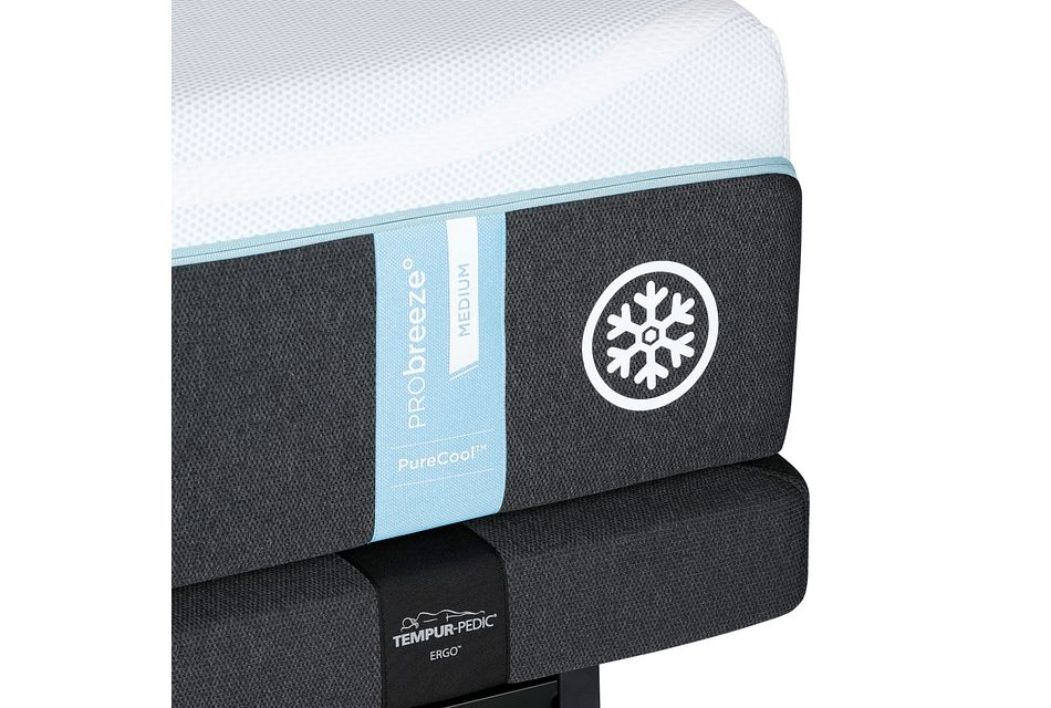 Tempur-probreeze™ Medium Ergo Adjustable Mattress Set