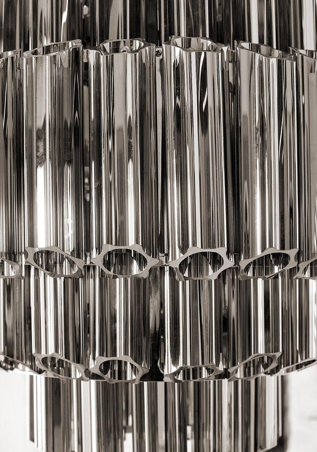 Camryn Black Glass Chandelier (0)