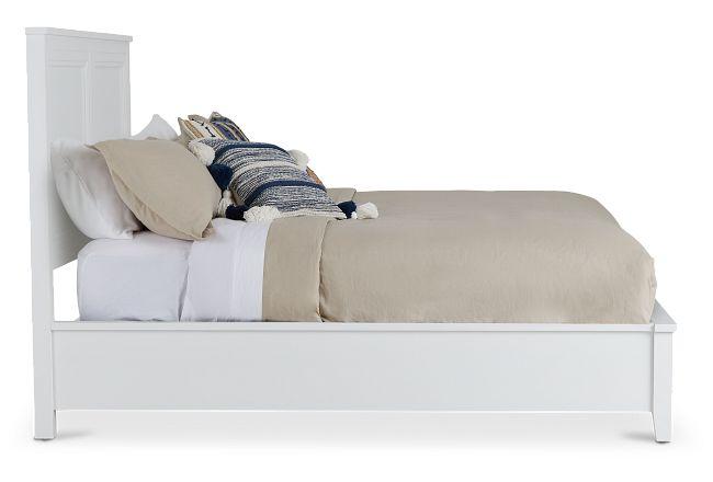 Nantucket White Platform Bed
