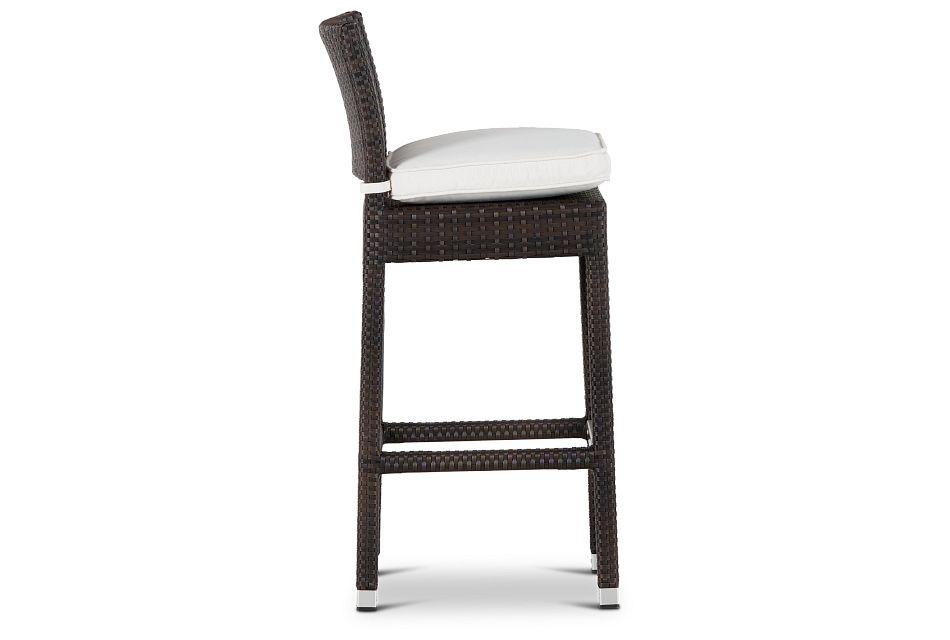 """Zen White 30"""" Barstool"""
