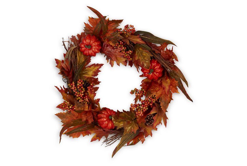 "Maple 24"" Wreath"