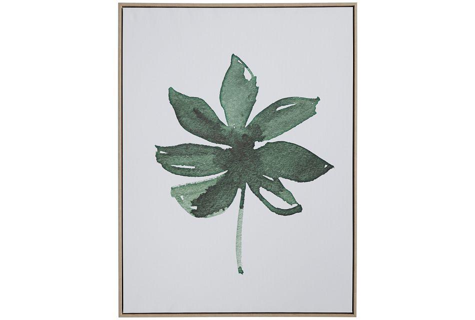 Birch Green Framed Wall Art