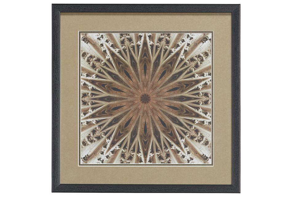 Henna Brown Framed Wall Art