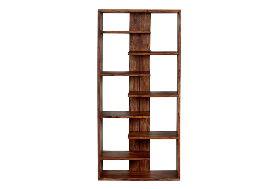 Aster Brown Bookcase