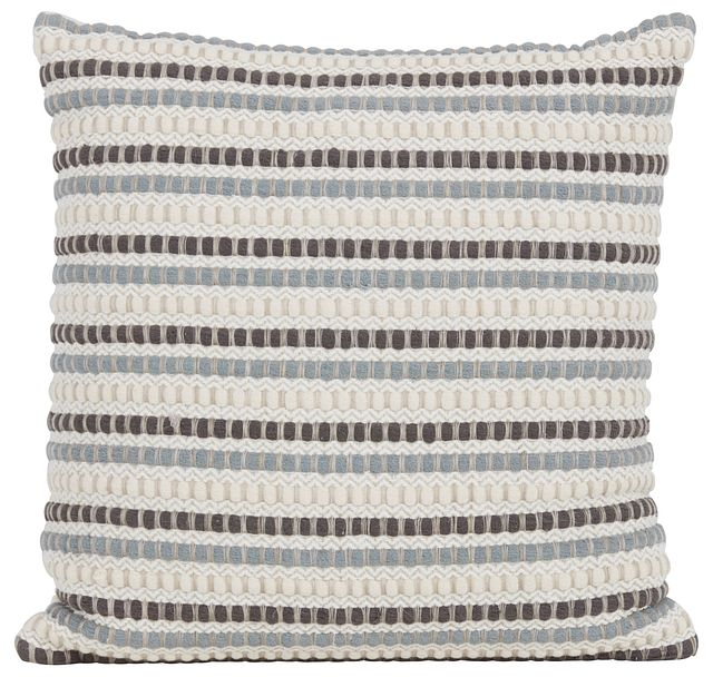 Shelby Beige Stripe Accent Pillow (0)