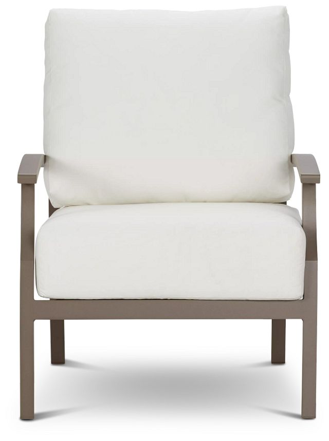 Raleigh White Aluminum Chair (2)