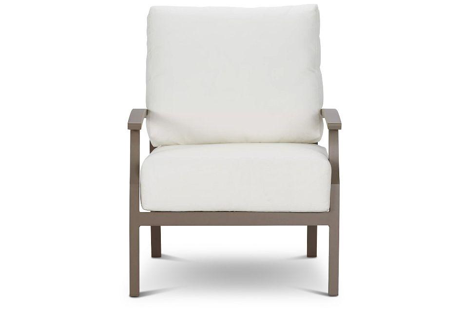 Raleigh White Aluminum Chair
