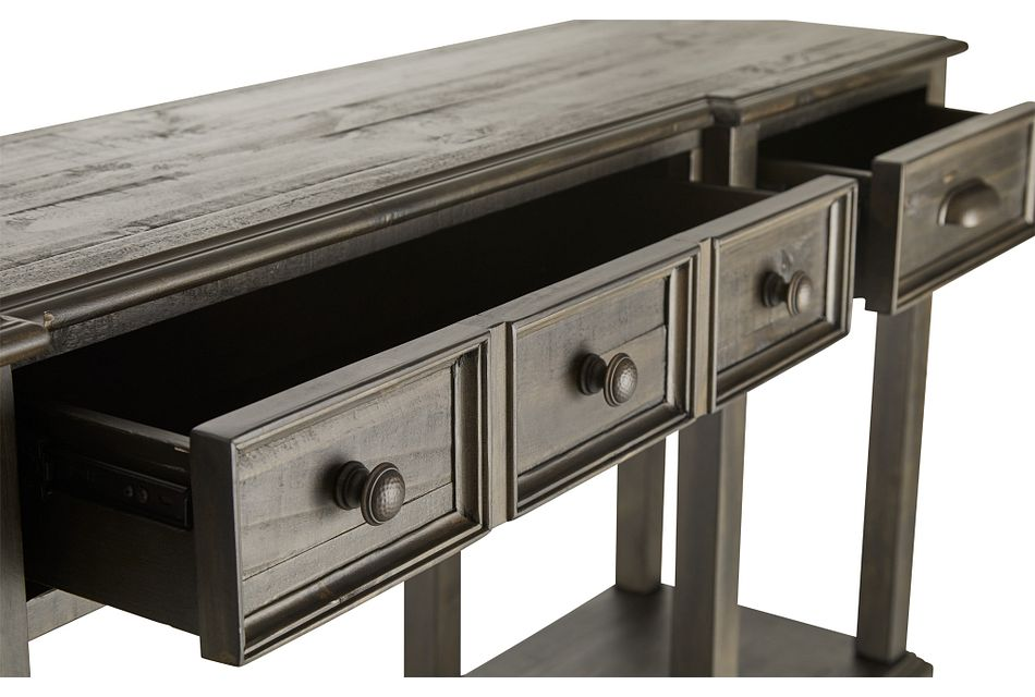 Jasper Dark Tone Sofa Table