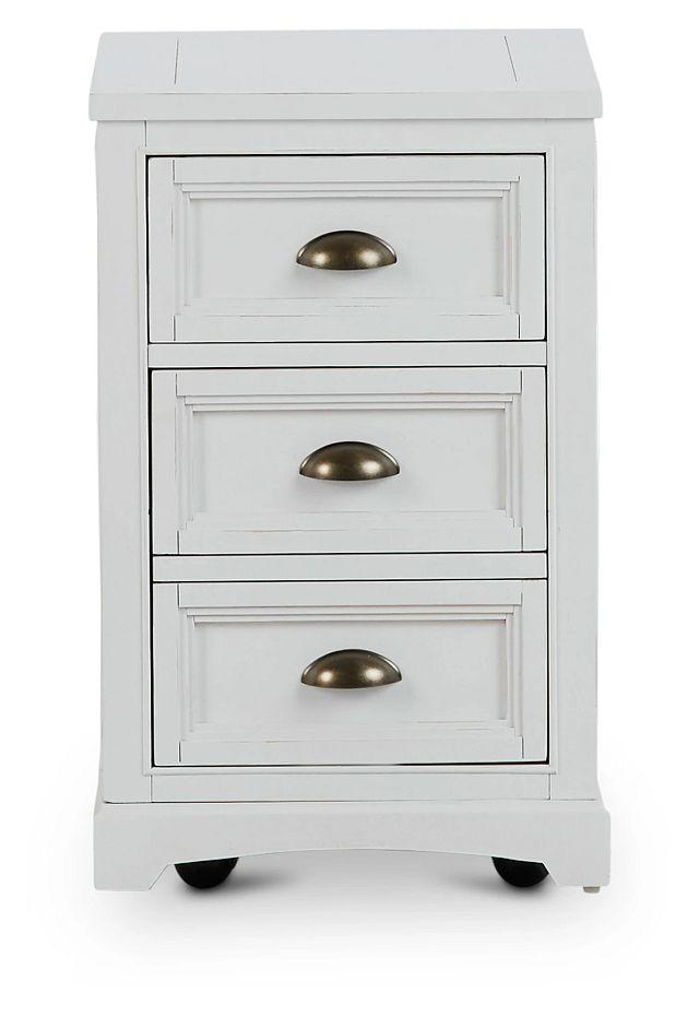 Heron Cove White File Cabinet (1)
