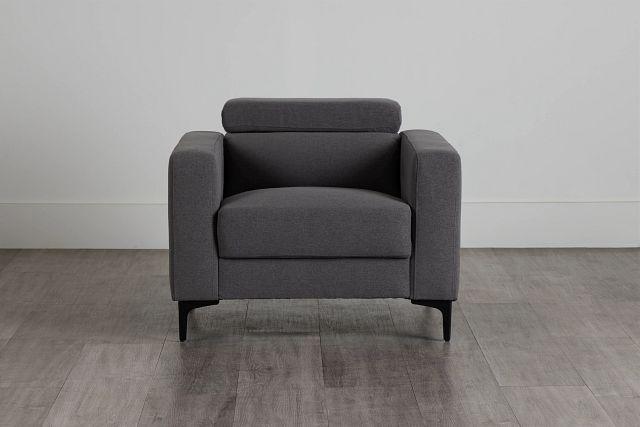 Trenton Dark Gray Fabric Chair (0)