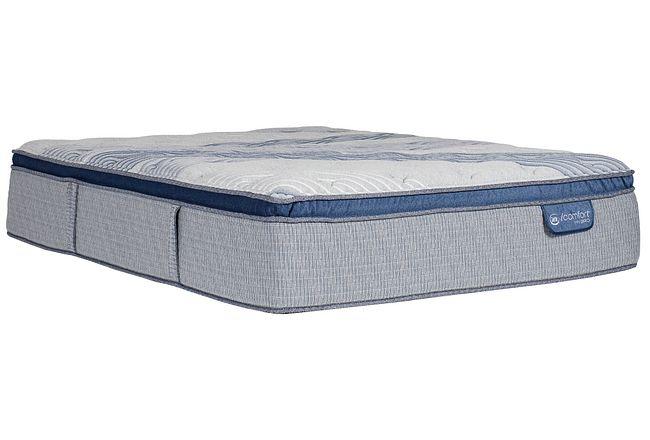 Serta Icomfort Blue Fusion Xls 1000 Plush Hybrid Pillow Top Mattress