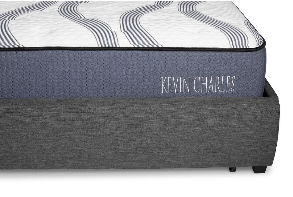 Chatham Dark Gray Uph Panel Storage Bed