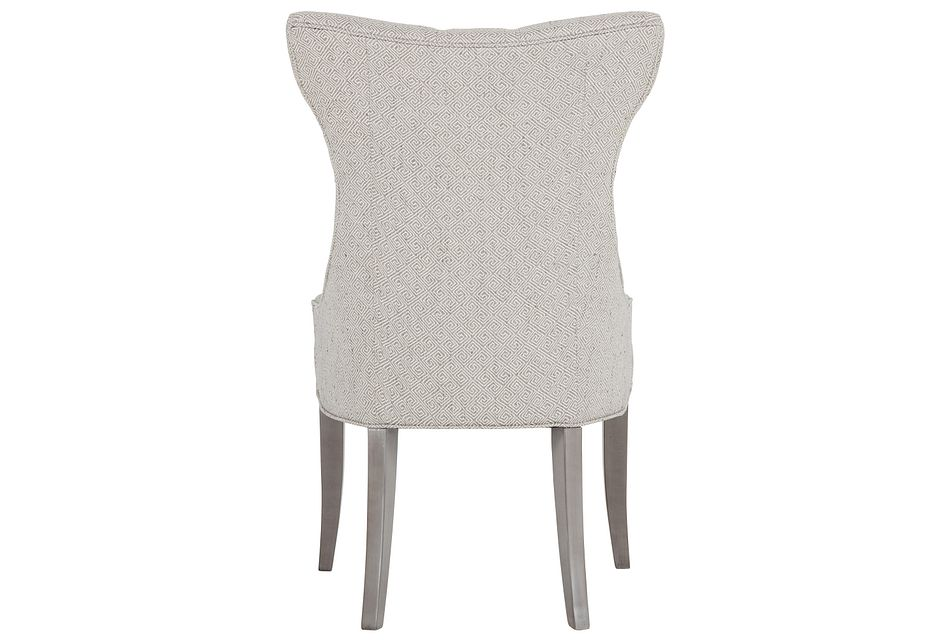 Deco Multicolored Upholstered Side Chair