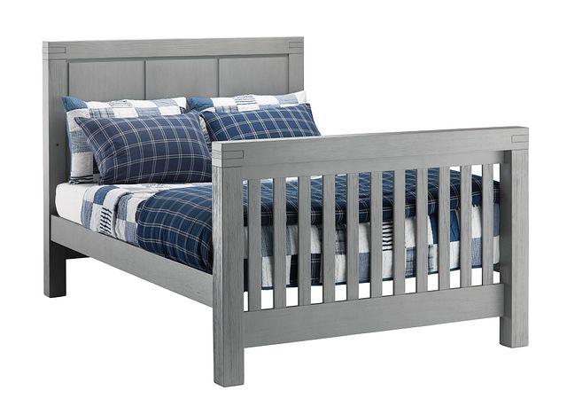 Piermont Gray Panel Bed (0)