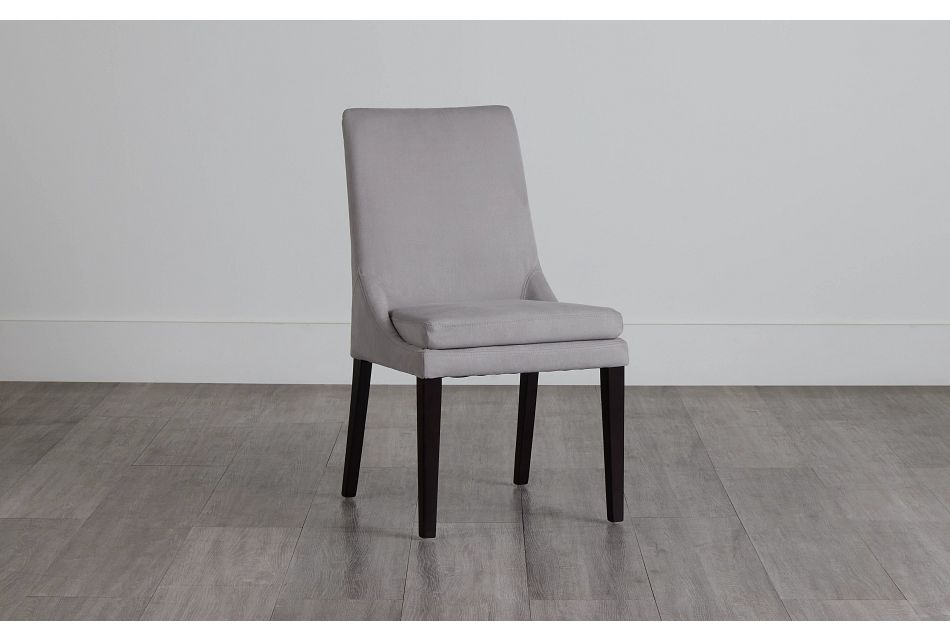 Tito Light Gray Upholstered Side Chair,  (0)