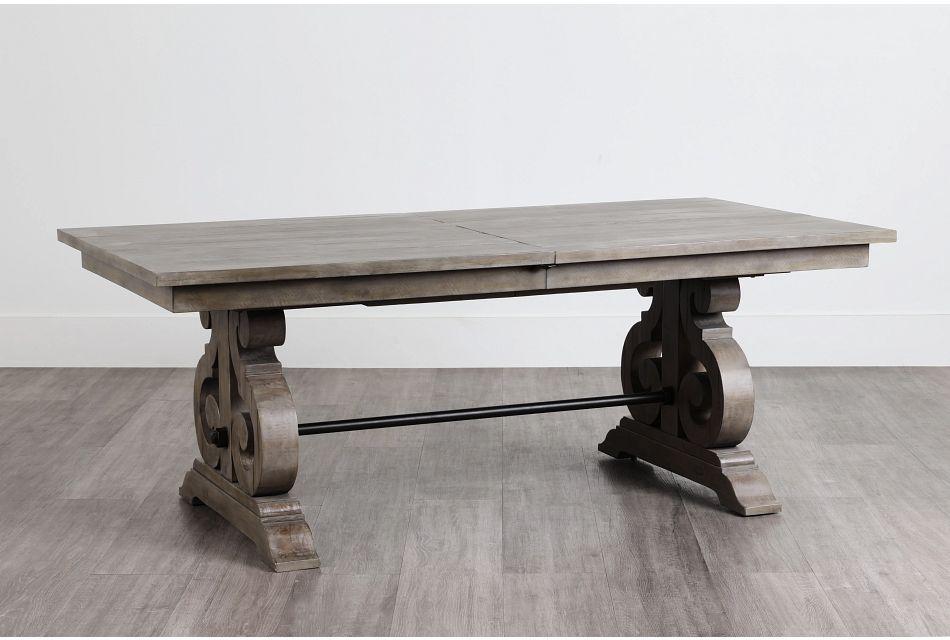 Sonoma Light Tone Trestle Table,  (0)