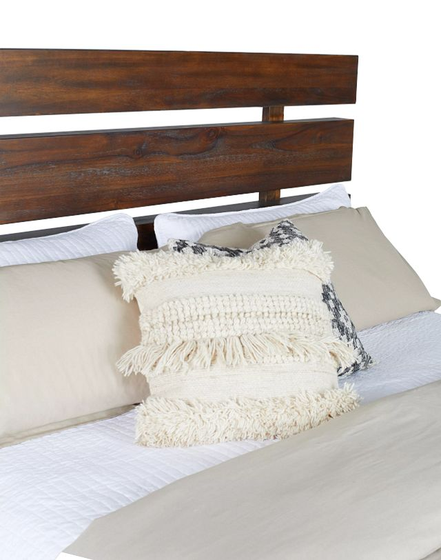 Forge Dark Tone Panel Bed