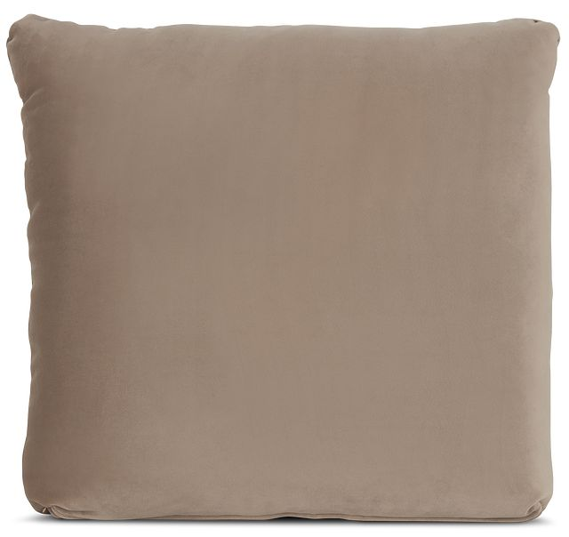 """Royale Taupe 18"""" Square Accent Pillow (0)"""