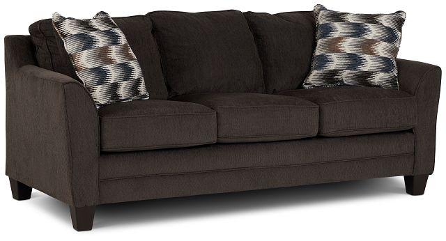 Charlie Dark Gray Fabric Sofa (2)