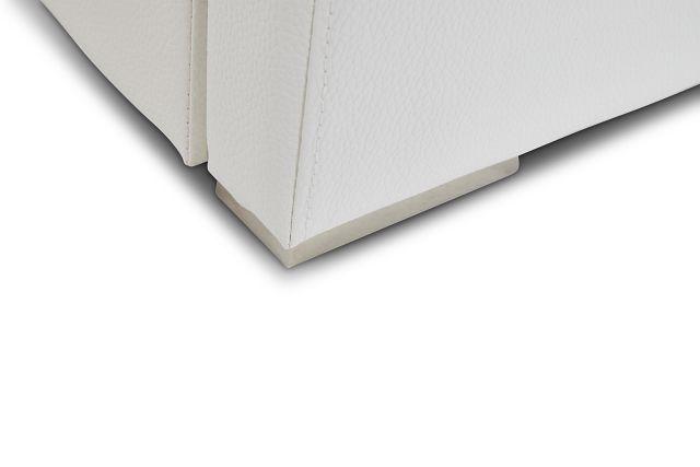 Cortina White Uph Platform Bed