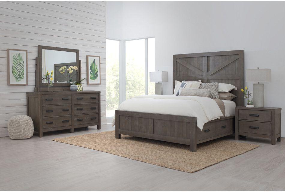 Taryn Gray Panel Bedroom