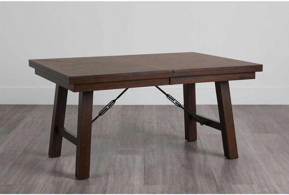 Jax Dark Tone Rectangular Table,  (0)