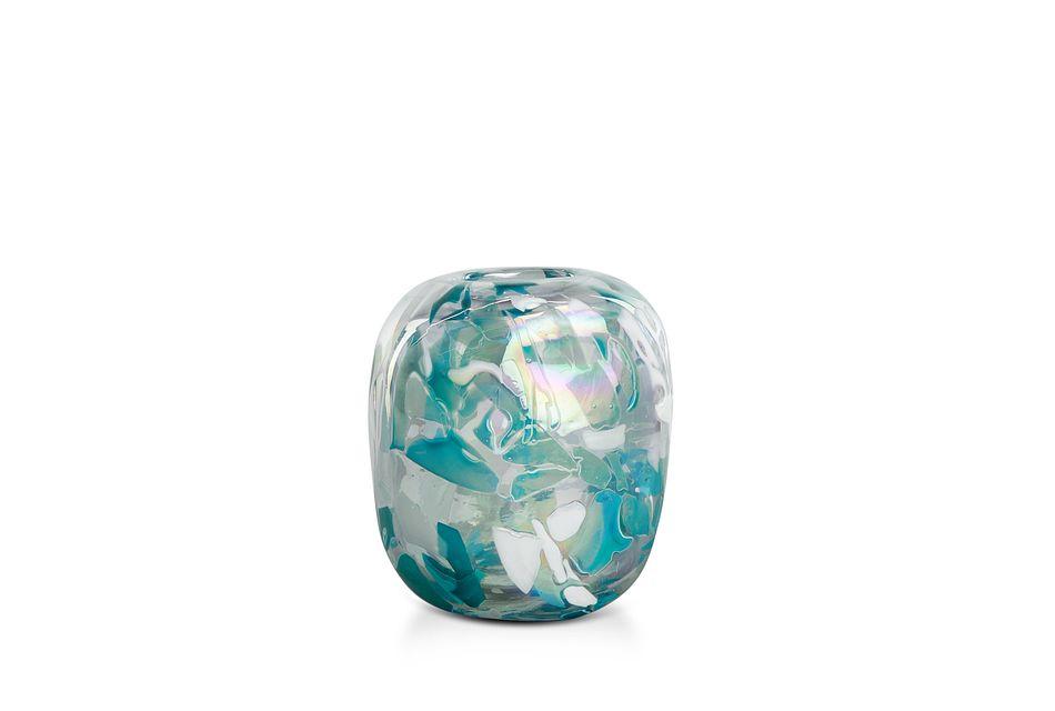Fifi Teal Vase